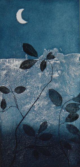 "iamjapanese: "" Johanna Koistinen(Finnish) Myrsky 2011 50x25cm via Vesi 2011 50x25cm via Kuutamolla II 2012 50x25cm via """