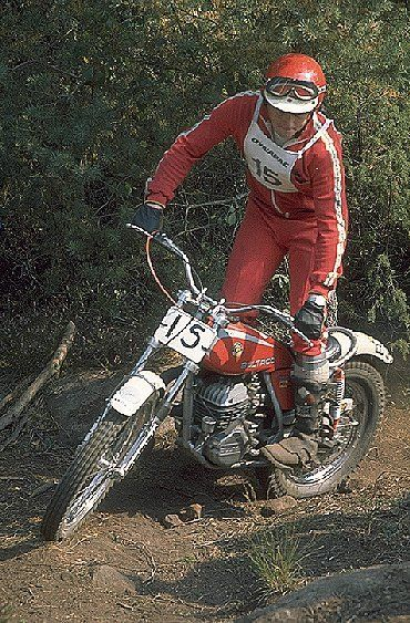 Martin Lampkin - Bultaco Sherpa