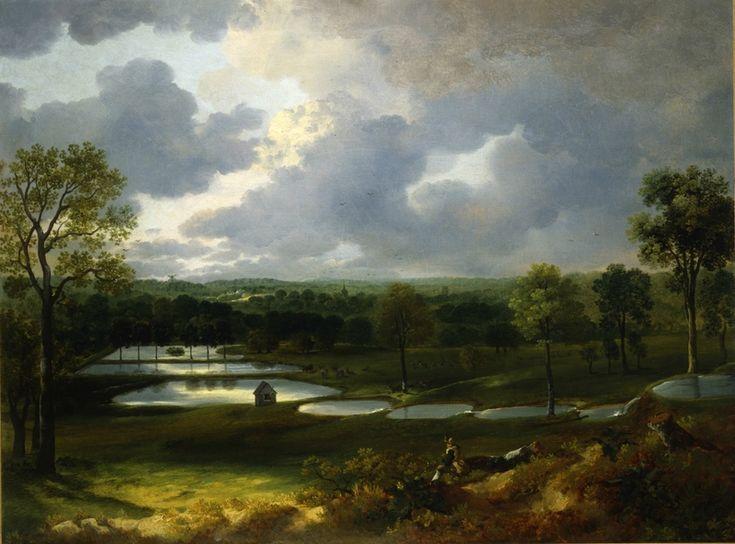 Thomas Gainsborough (1727-1788), Holywells Park, um 1748–1750. Öl auf Leinwand, 50,8 x 66 cm, Ipswich Museum and Gallery © Ipswich Museum and Gallery