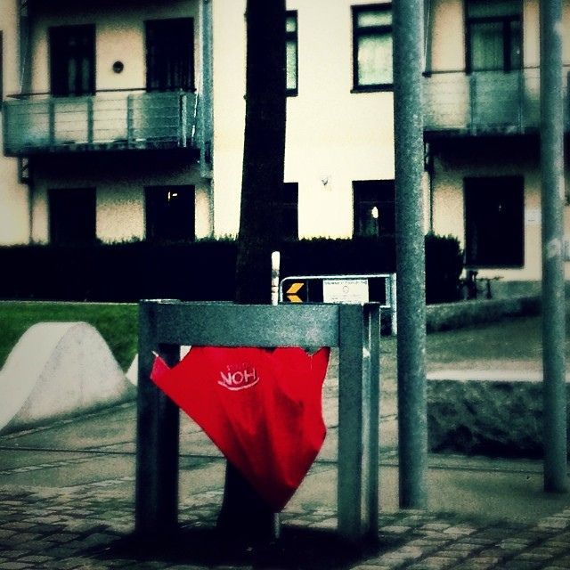 Someone is growing red umbrellas photo #4 2014 #oslo | Flickr - Photo Sharing!