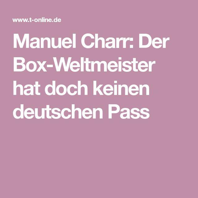Manuel Charr: Der Box-Weltmeister hat doch keinen deutschen Pass