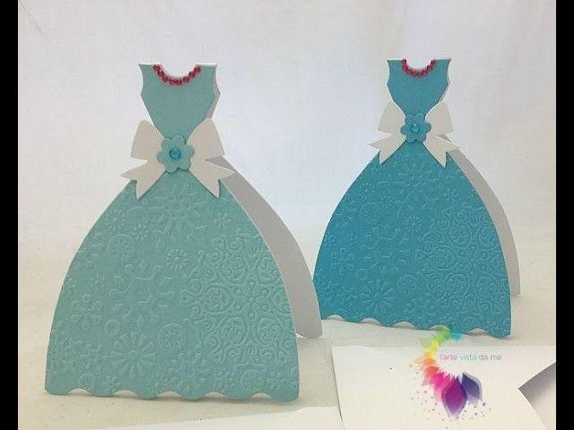 Invito Compleanno Frozen Fai da te-Card Auguri Frozen-Frozen Party Ideas DIY-Scrapbooking Tutorial