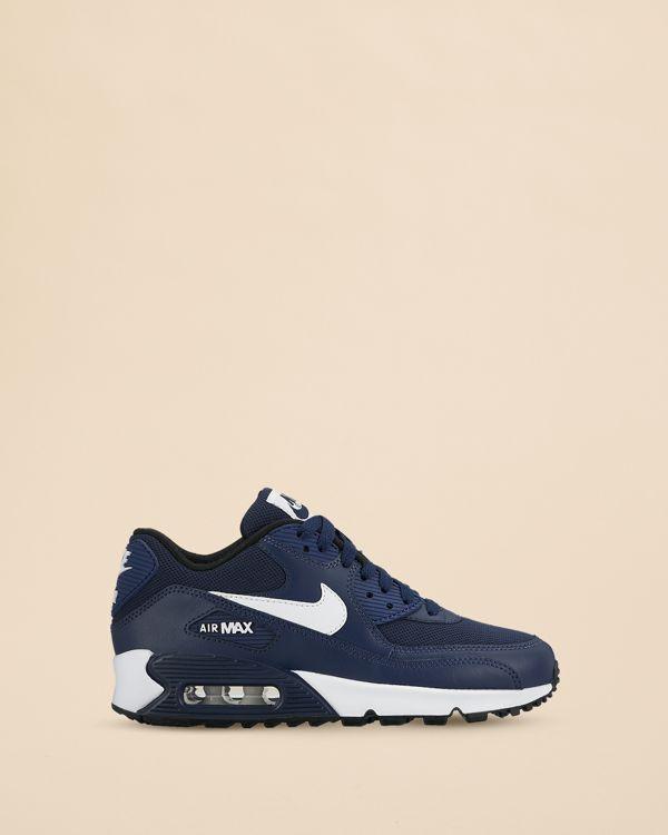 Nike Boys' Air Max 90 Mesh Sneakers - Big Kid