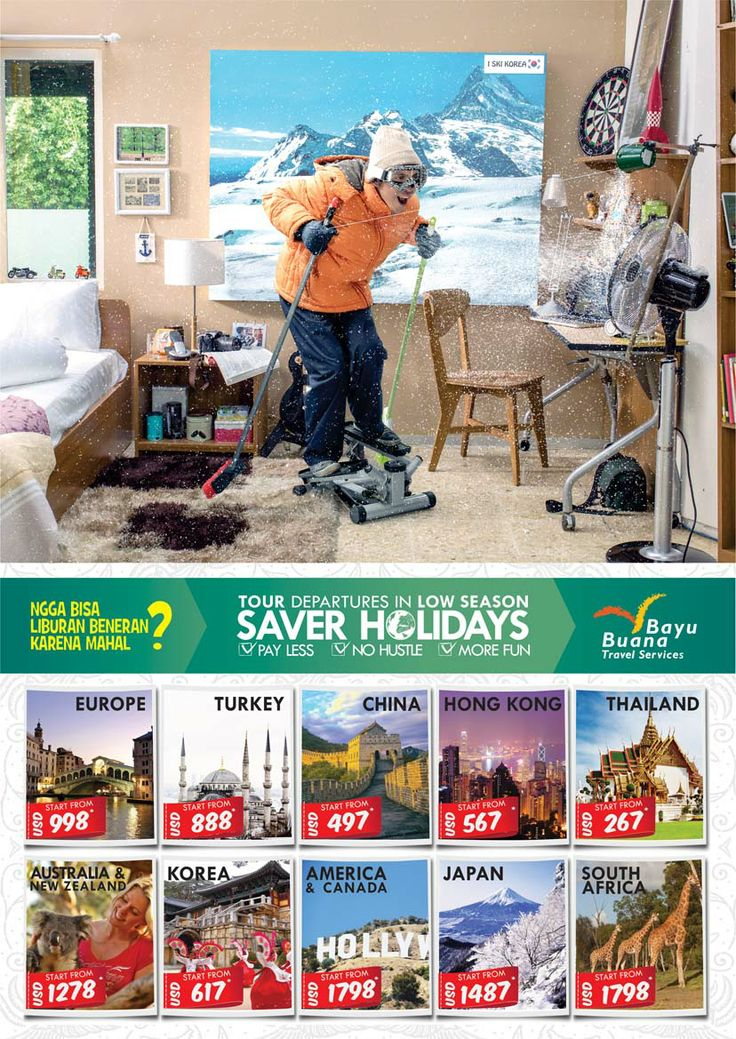 Enjoy our Saver Holidays in Low Season Period 2014! Pay less, travel more!
