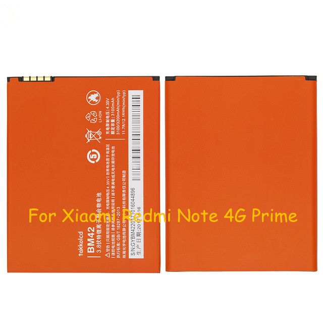 For Xiaomi Redmi Note 4g Prime Battery Xiaomi Samsung Watches Phone Battery