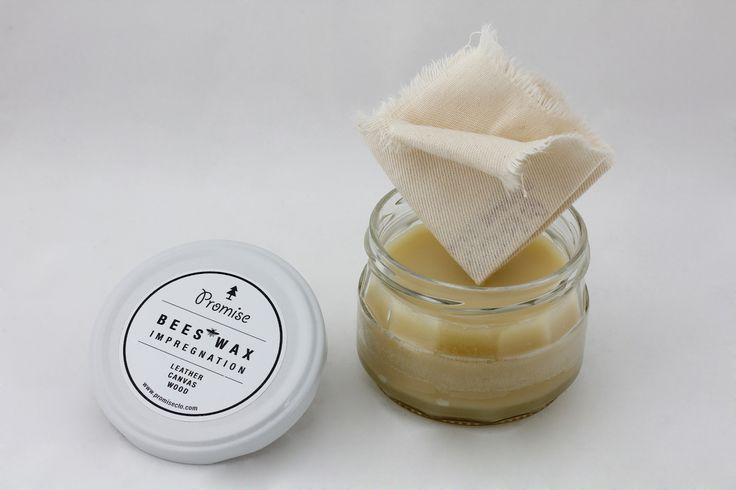 Beeswax impregnation for leather, canvas or wood. For long life.