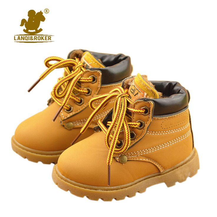 >> Click to Buy << New Kids Children Snow Boots Shoes for Girls Boys Fashion Soft Bottom Baby Boot 21-30 Autumn Winter Child Boots Toddler Shoe #Affiliate