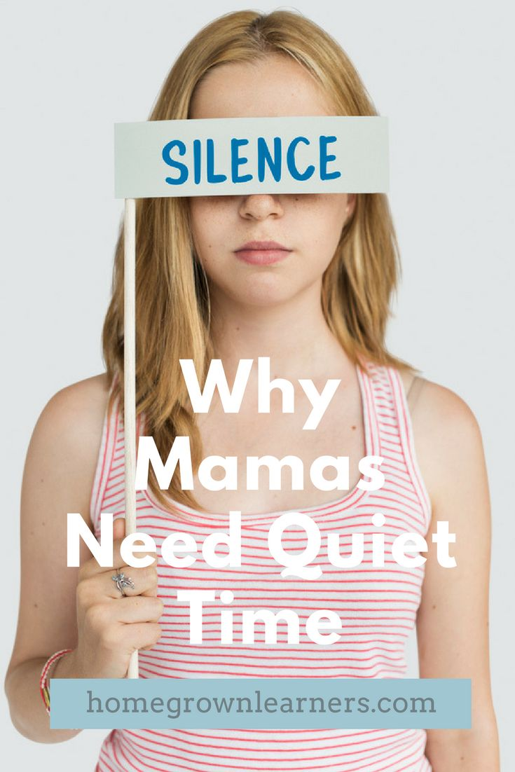 Why Homeschool Mamas Need Quiet Time