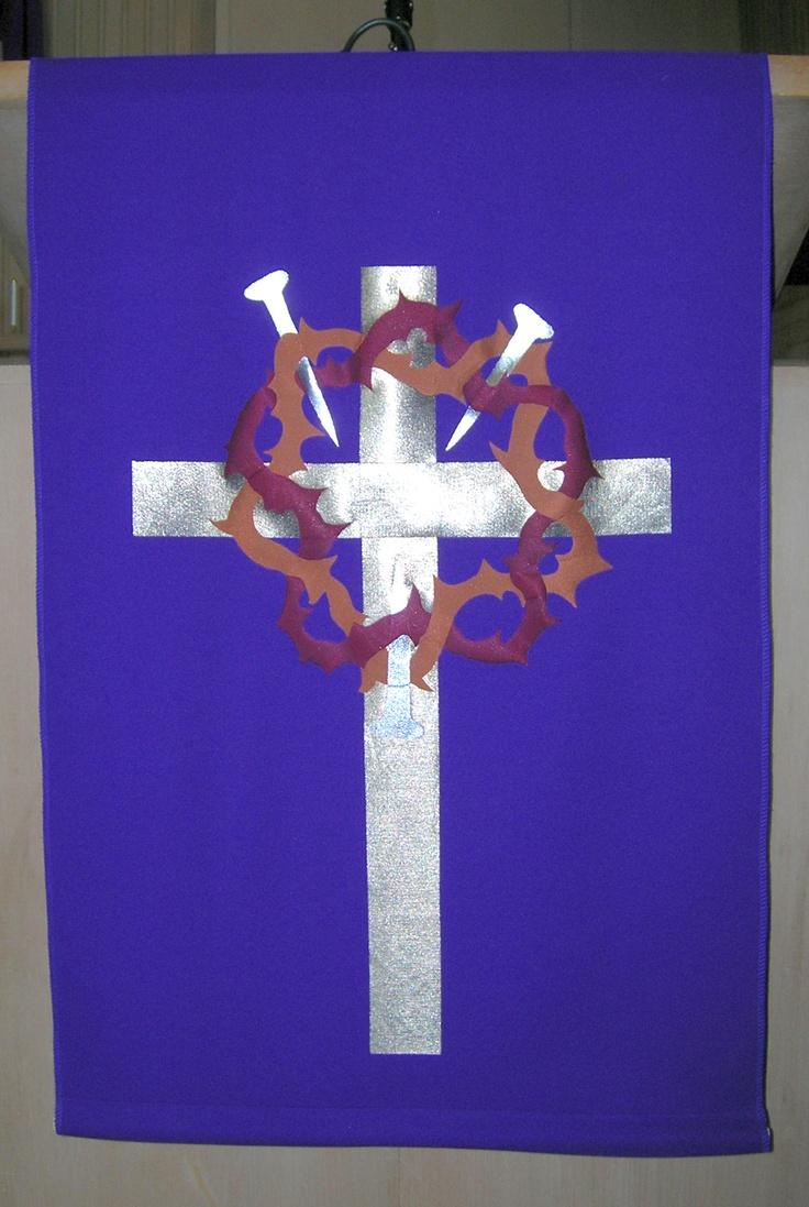 Lenten Pulpit Paramet Church Banners Pinterest