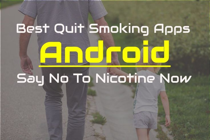 So let's begin with the countdown of best quit smoking apps for android. All the apps are chosen based on high rating and trending in the google Play store.