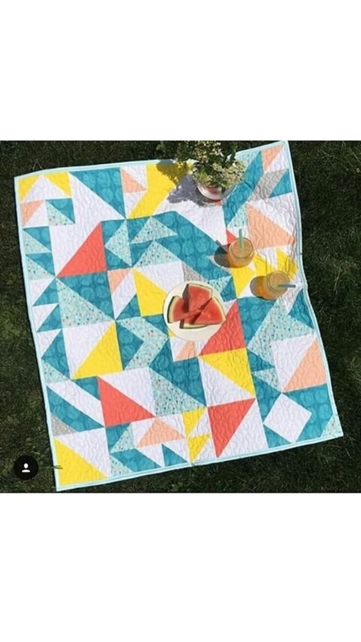 Custom Quilts by Stitched - Perfect for picnic!