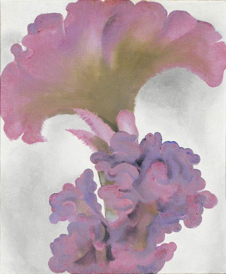 Flower of Life - Georgia O'Keeffe - WikiPaintings.org