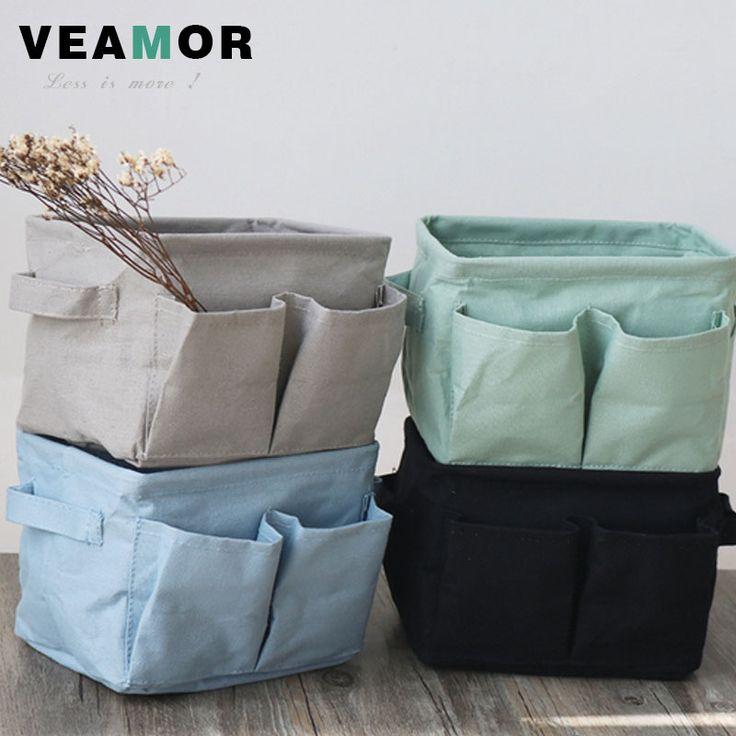 Japanes Clothing Storage Baskets Underwear/socks/Bra/Tie Storage Boxes Multifunction Trellis Box Home/Office Storage Bags B1194