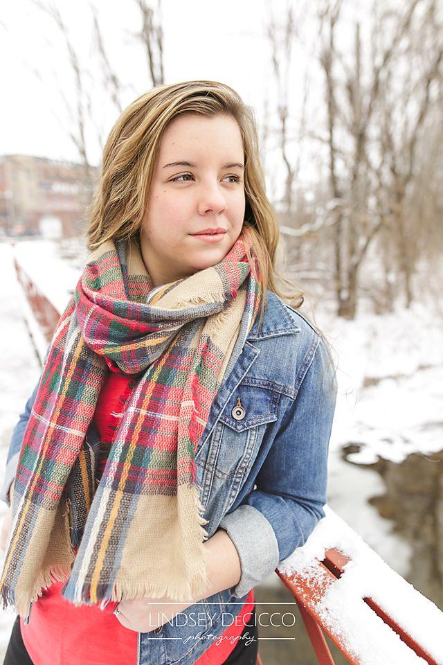 Snow Senior Pictures