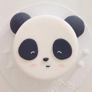 Panda cake idea                                                                                                                                                     More