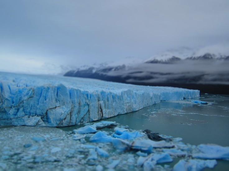 The mammoth Perito Moreno glacier, Santa Cruz province