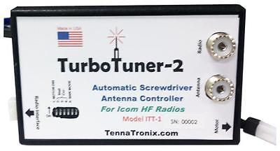 Other Ham Radio Equipment: Tennatronix Itt-1 Turbo Tuner 2 For Icom Hf Radios -> BUY IT NOW ONLY: $227.66 on eBay!