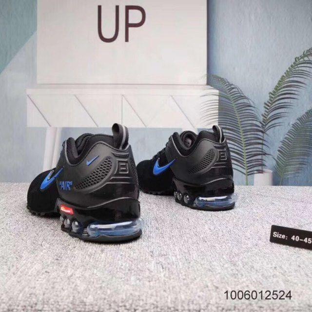 Mens Nike Air Shox Ultra 2019 Black Blue Footwear NIKE ...