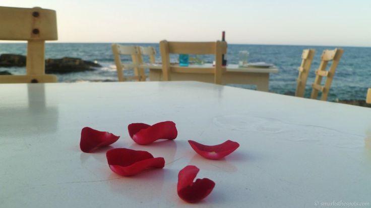 The most romantic dinner setting! Prima Plora, Rethymno, Crete | smarksthespots.com