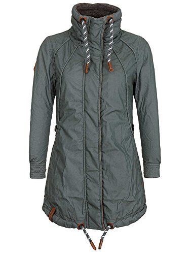 f931c8a992bd55 Naketano Damen Jacke Zebratwist Jacke. Material: 74% Baumwolle 26%  Polyamid. Elastizität