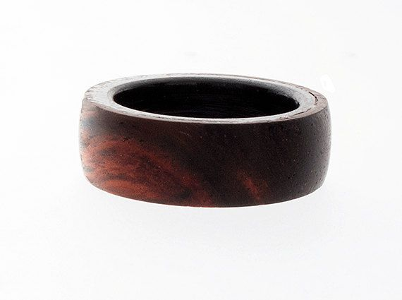 Men's Wedding Band Wooden Wedding Bands for by SweetLeeBoutique