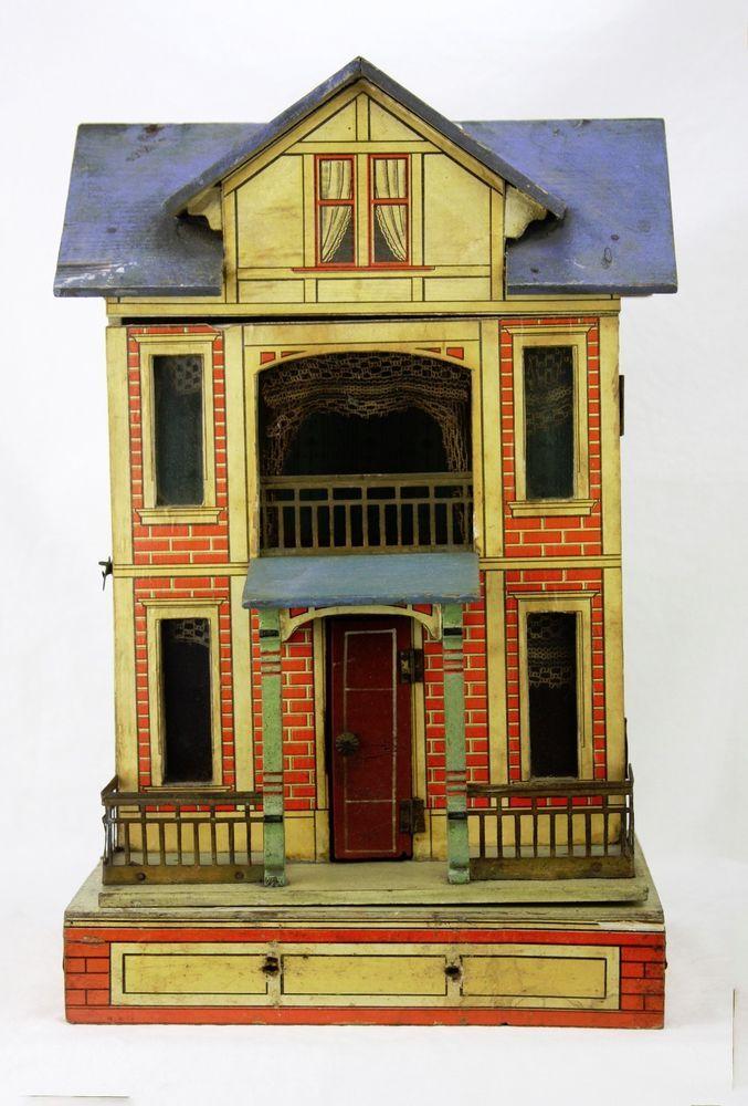 1913 Best Images About Antique Dollhouse On Pinterest