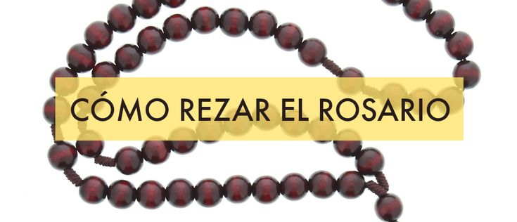 How to Pray the Rosary in Spanish