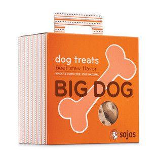 SOJOS BIG DOG BEEF STEW DOG TREATS