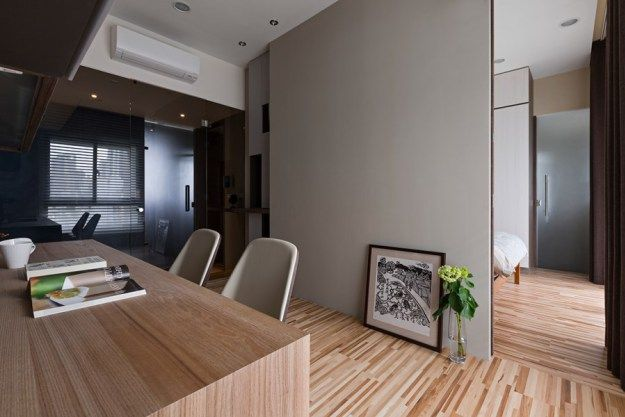 Japanese living in Taiwan by HOZO interior design 17
