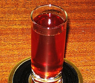 Red Headed Slut Shot*****    1 part Peach Schnapps---  1 part Jagermeister---  1 part Cranberry Juice---