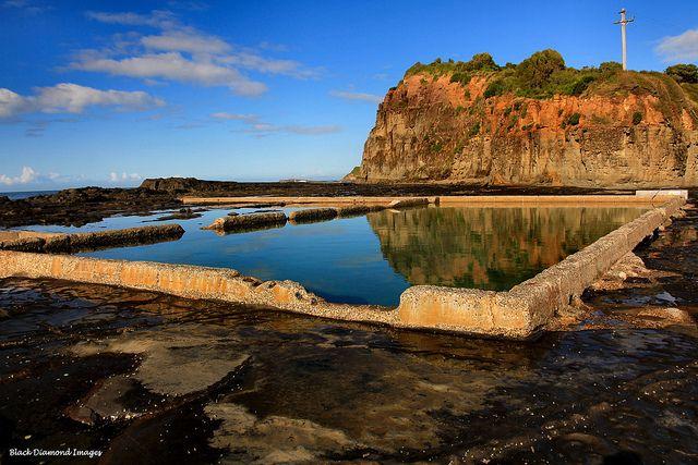 Werri beach. Boat harbour. Gerringong nsw australia