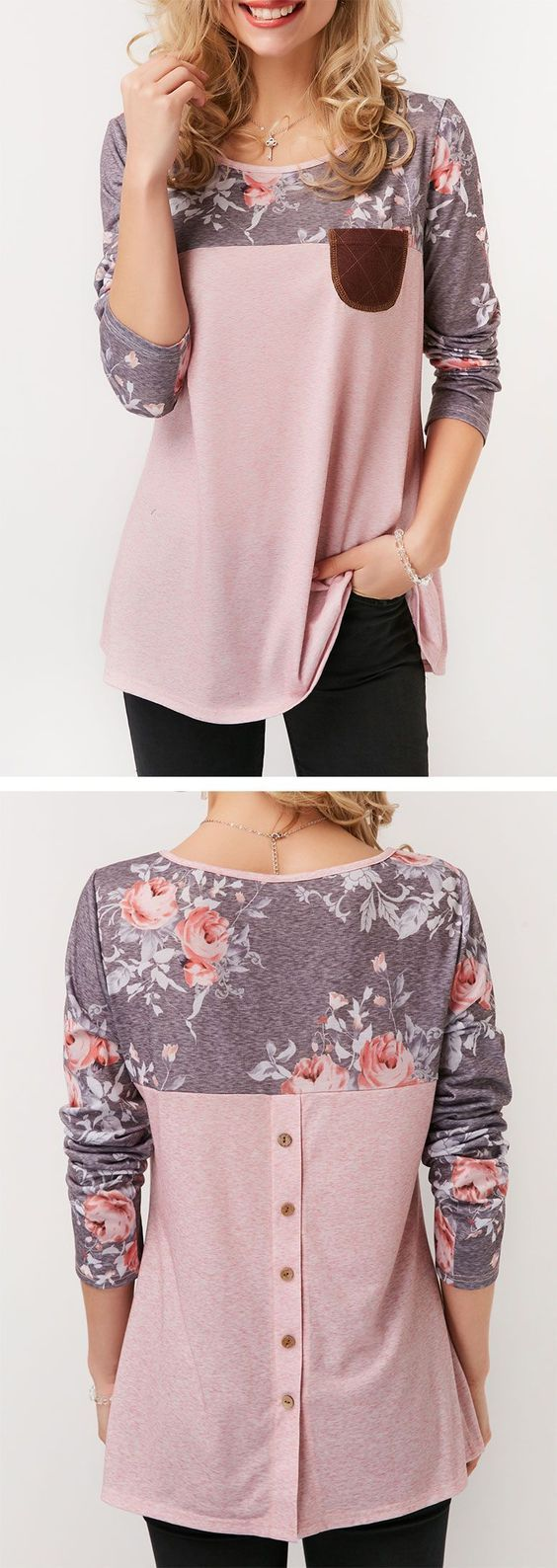 Patchwork Printed Round Neck Button Back T Shirt, free shipping worldwide, check them out - http://sorihe.com/blusademujer/2018/03/16/patchwork-printed-round-neck-button-back-t-shirt-free-shipping-worldwide-check-them-out/ #women'sblouse #blouse #ladiestops #womensshirts #topsforwomen #shirtsforwomen #ladiesblouse #blackblouse #women'sshirts #womenshirt #whiteblouse #blackshirtwomens #longtopsforwomen #long tops #women'sshirtsandblouses #cutetopsforwomen #shirtsandblouses #dressytops…