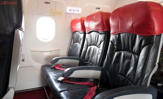 Órgão do governo quer mudar preço de poltronas-conforto de avião