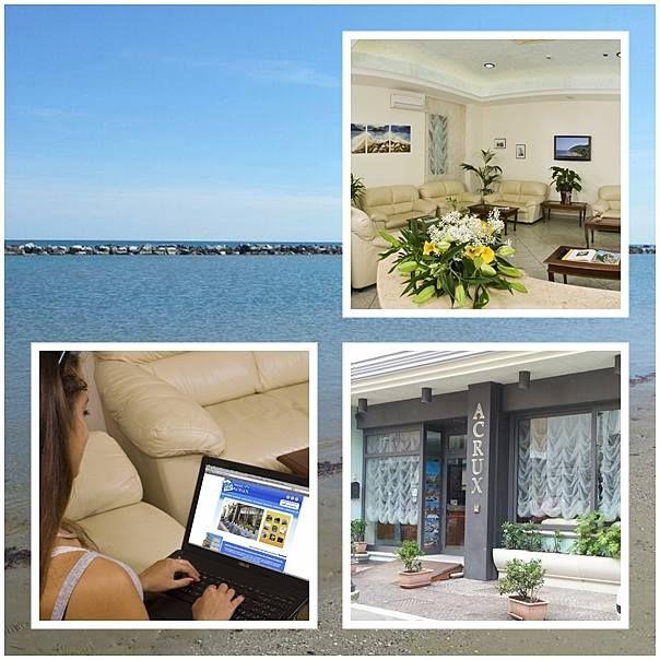 Gabicce (Marche) - Hotel Acrux #gabiccemare #gabicce #mare #hotelacrux #spiaggia #sole #estate #vacanze #relax #rivieraromagnola Seguici su https://www.facebook.com/HotelAcrux