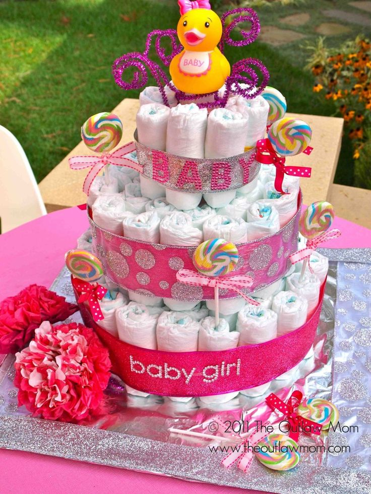 140 best images about baby shower ideas on pinterest for Baby cake decoration ideas