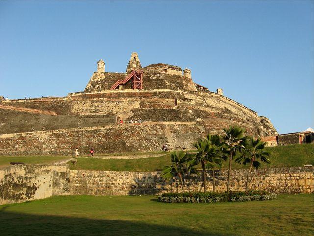 COLOMBIA |||||||||| CARTAGENA. Castillo San Felipe de Barajas en Cartagena / Fot: Usuario de Flickr zug55.