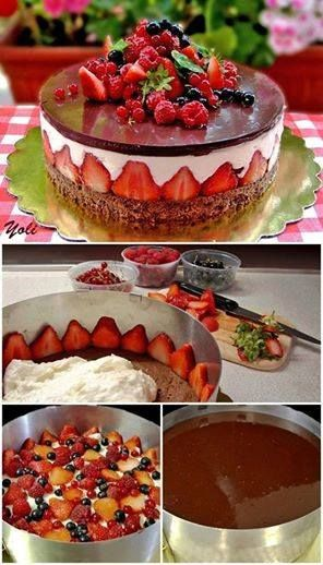 How to Make Fraisier Cake