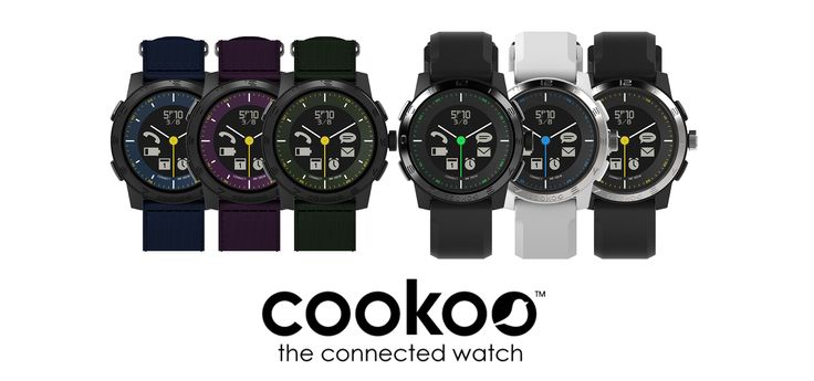 Cookoo 2™ Connected Watch for iPhone® & Android