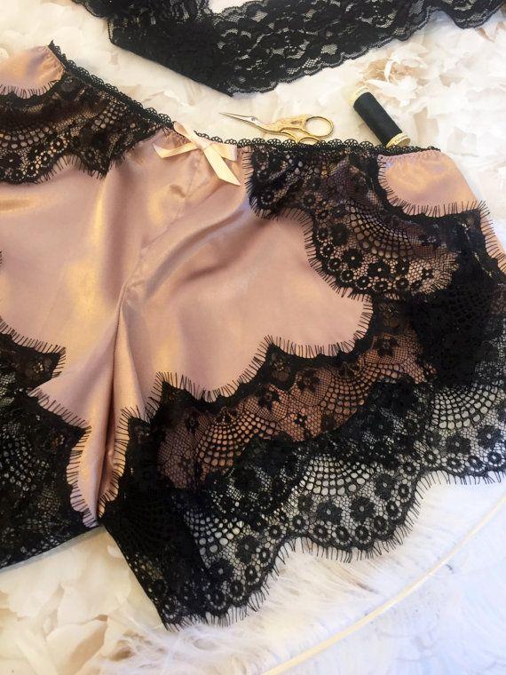 Patrón de costura de ropa interior bragas francés Camille by EvielaLuveDIY | Etsy