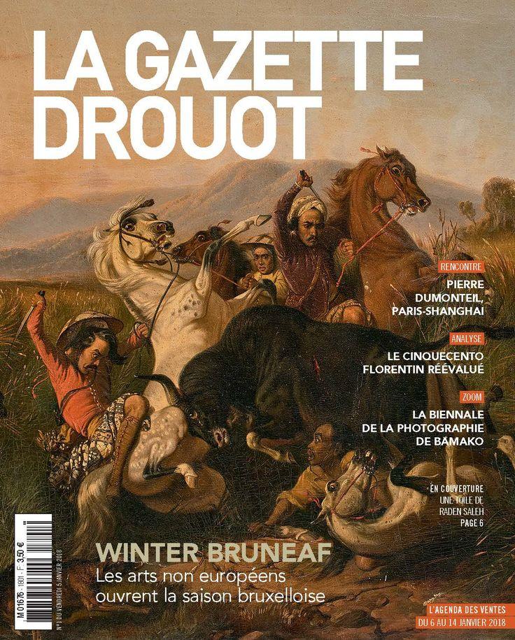 Gazette Drouot n°1 du 05/01/2017 #RadenSaleh #Painting #ArtMarket #webzine