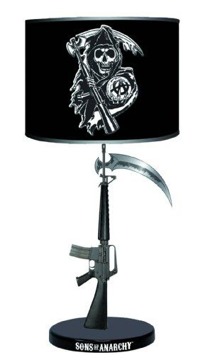 Sons of Anarchy Table Lamp http://bikeraa.com/sons-of-anarchy-table-lamp/