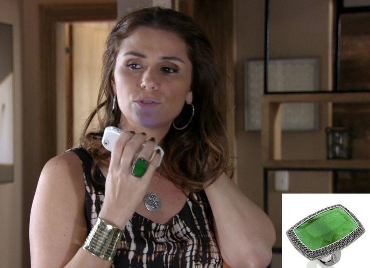 Carla Amorim emplaca joias de jade e diamantes negros no figurino de Giovanna…