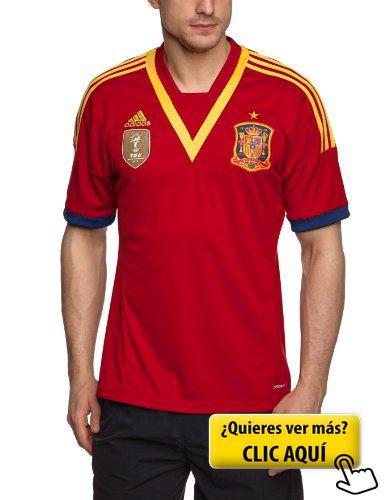 Adidas - Camiseta de fútbol selección española... #futbol #españa