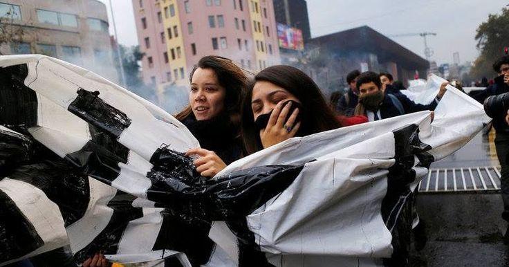 Χιλή: Οι φοιτητές βγήκαν ξανά στους δρόμους απαιτώντας δωρεάν παιδεία