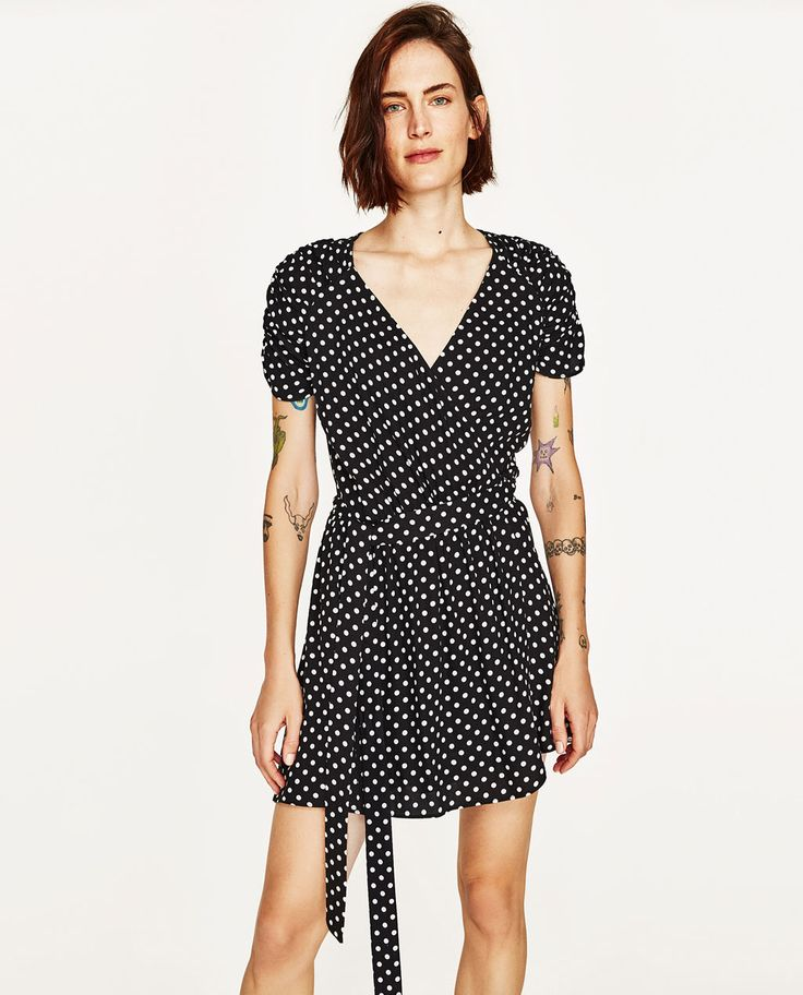 Image 5 of SHORT POLKA DOT JUMPSUIT from Zara