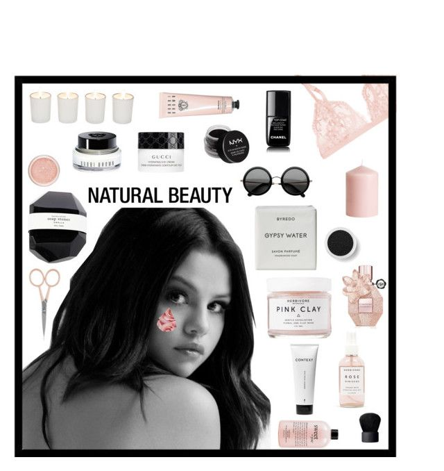 """Minimalist Beauty"" by hideous ❤ liked on Polyvore featuring beauty, Byredo, Context, Herbivore, philosophy, Anastasia Beverly Hills, La Perla, Witchery, H&M and Viktor & Rolf"