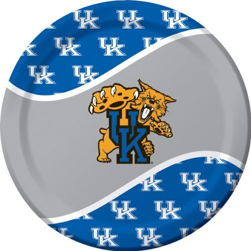 Creative Converting Kentucky Wildcats Dinner Paper Plates (8 Count) by Creative Converting. $5.81. From the Manufacturer                With over 80 years of combined experience in the paper and party goods industry, Creative Converting has successfully established itself as a highly respected designer, manufacturer and distributor of disposable tableware, including paper napkins, plates, cups, table covers and plastic cutlery in a variety of solid colors as well as ensemble...