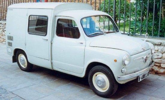 c.1962 SEAT 600 FURGONETA