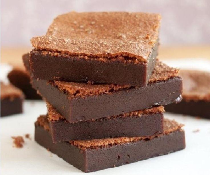 Med kun to ingredienser kan du lage magiske nutella brownies på under 60 minutter!Oppskrift/Foto: TheKitchn