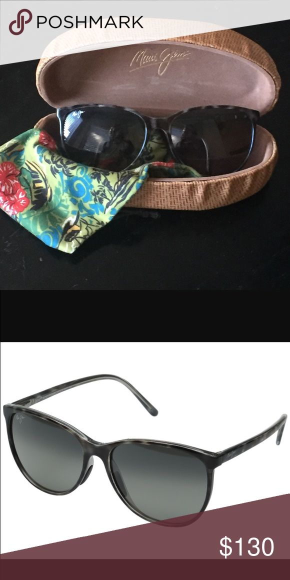 Maui Jim Ocean Sunglasses Maui Jim Ocean Sunglasses. Polarized. Excellent condition. No scratches. Grey tortoise shell. Maui Jim Accessories Sunglasses